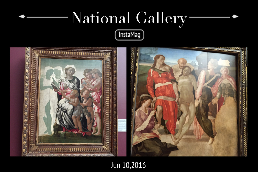Michaelangelo's at National Gallery London